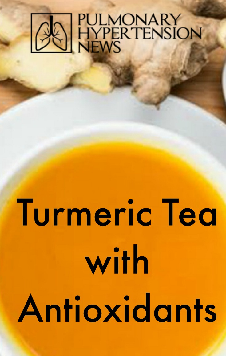 turmeric tea with antioxidants